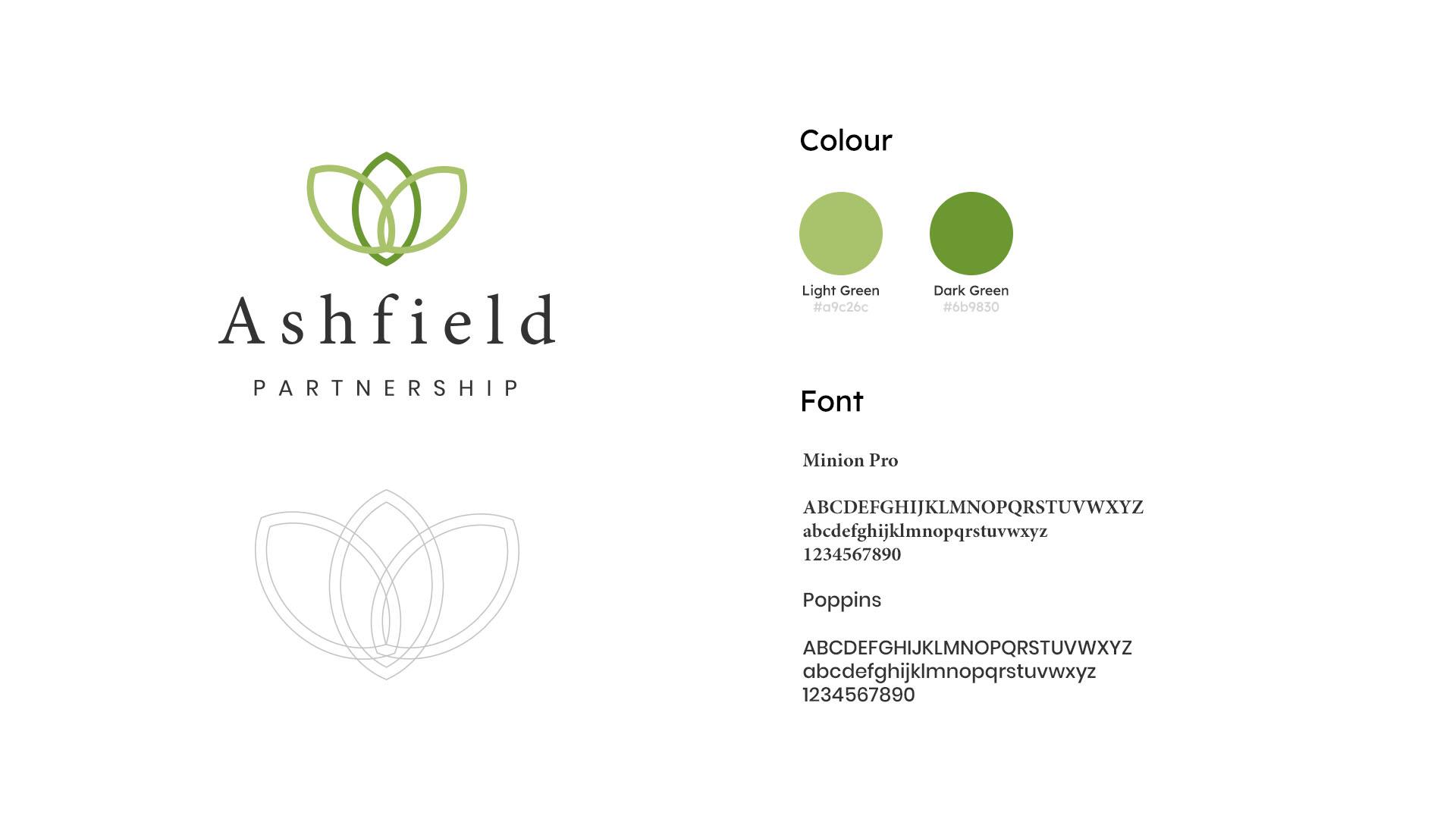 Ashfield Partnership Branding