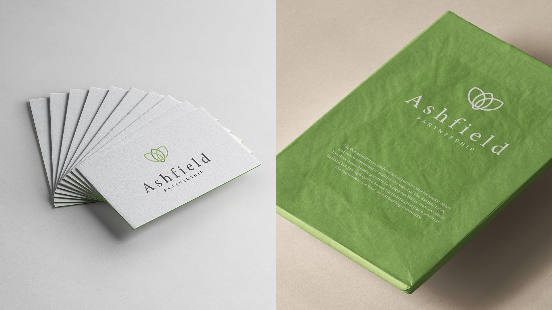 Ashfield Partnership Branding Print Work