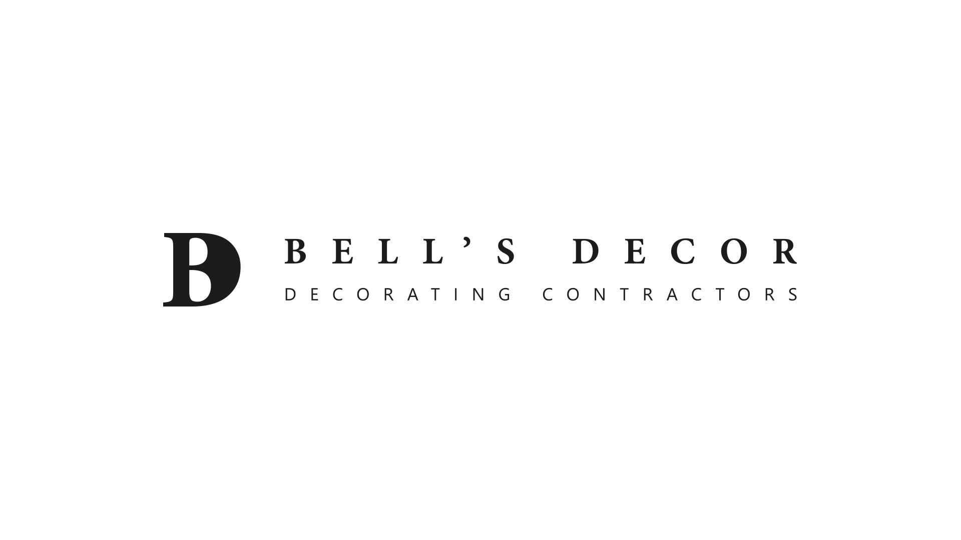 Bells Decor - Black and White Logo