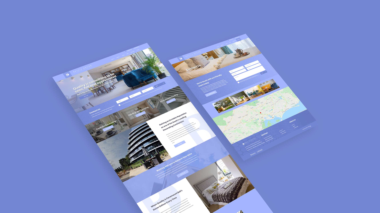 Bells Decor - Website Design