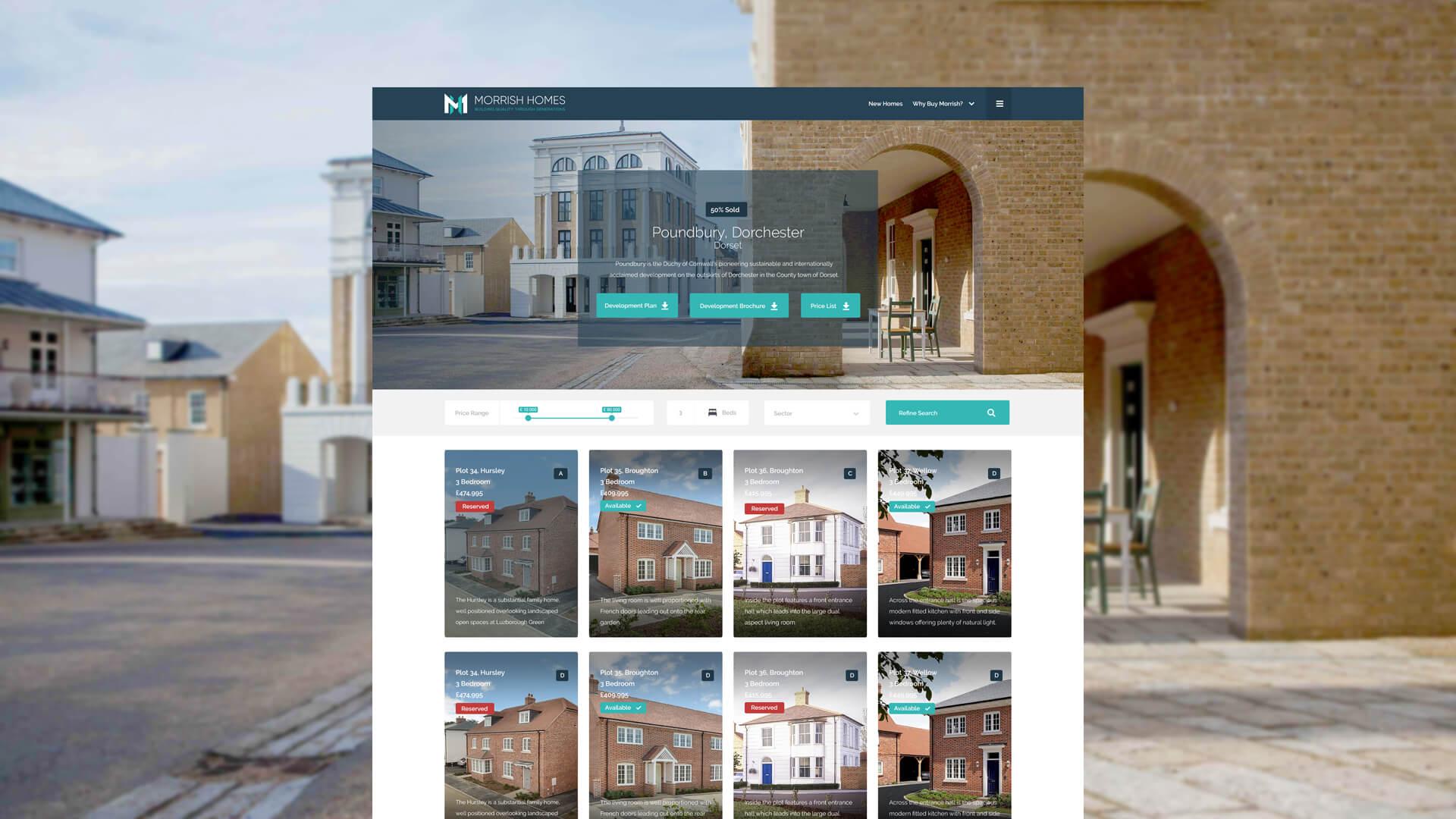 Morrish Homes Development Design
