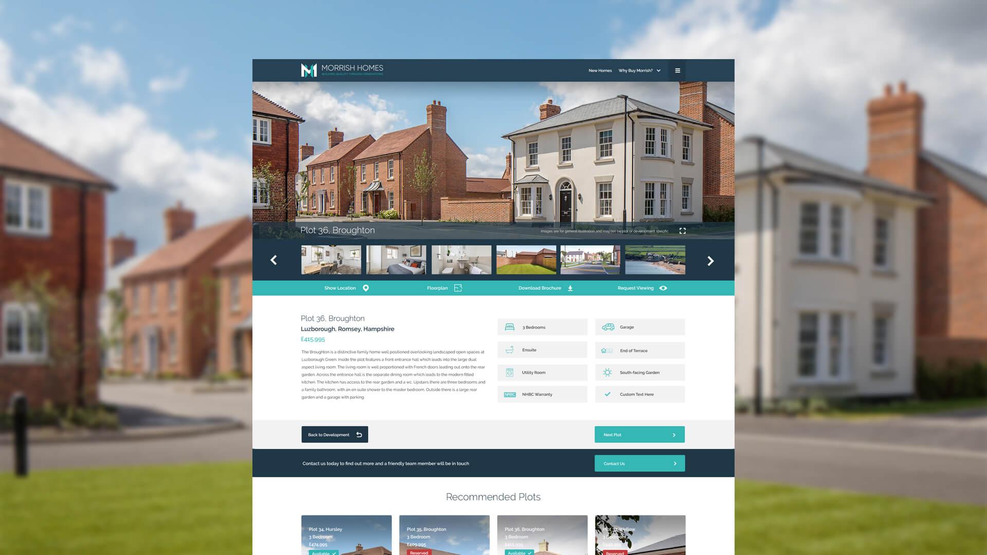 Morrish Homes Plot Design